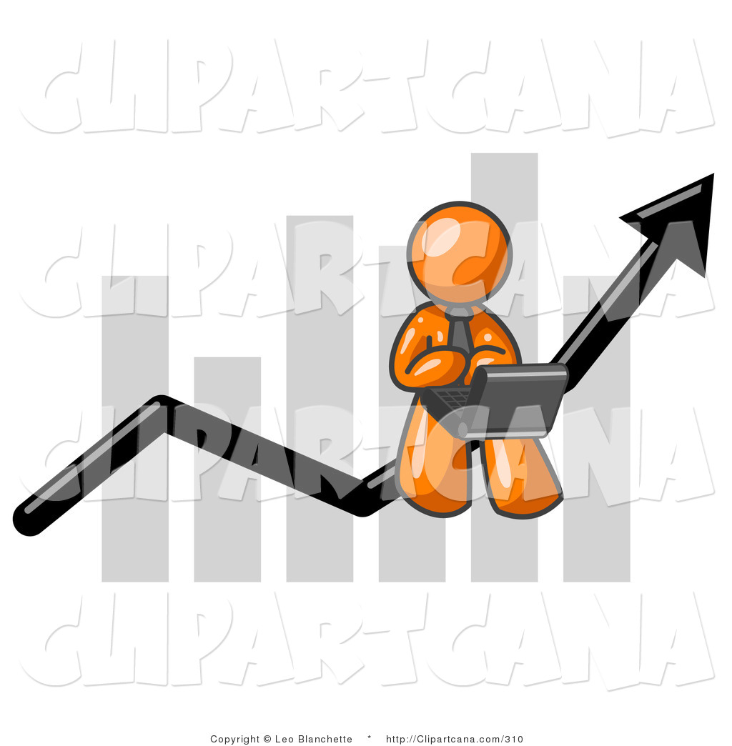 vector-clip-art-of-an-orange-business-person-using-a-laptop-computer-riding-the-increasing-arrow-line-on-a-business-chart-graph-by-leo-blanchette-310.jpg